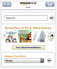 amazon mobile site