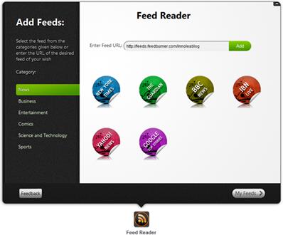 pokki-rss feed reader