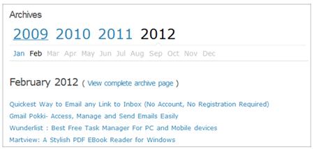 smart archives reloaded