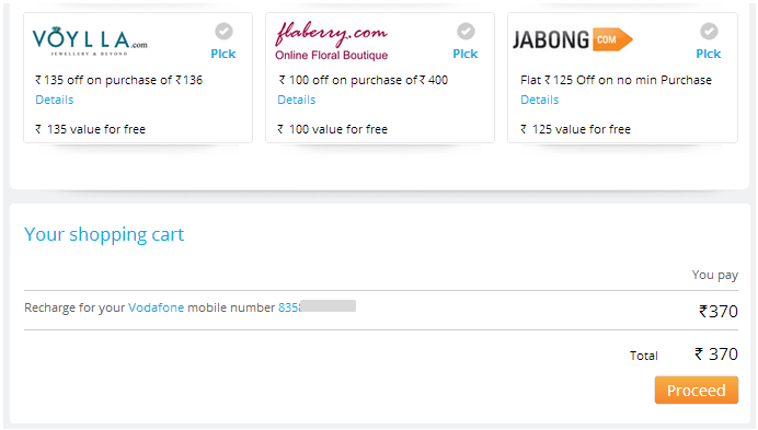 Paytm discount coupons for mobile payment