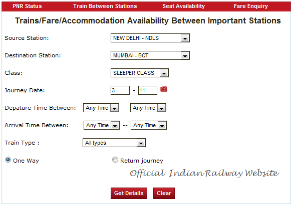Check Seats Availability On Indian Trains With Cleartrip