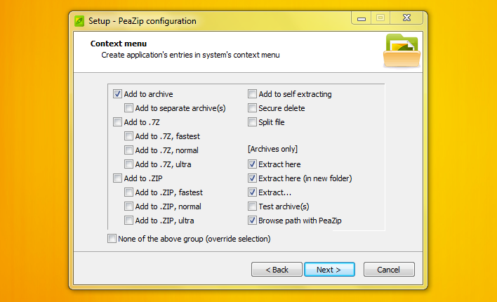 PeaZip : A Free Tool to Compress and Extract File Archives