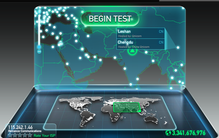 internet tester online