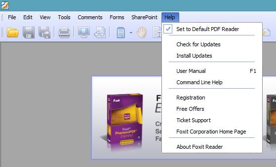 Foxit Reader Install Addon